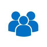 Focus Group health research icon