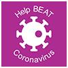 Help beat coronavirus logo
